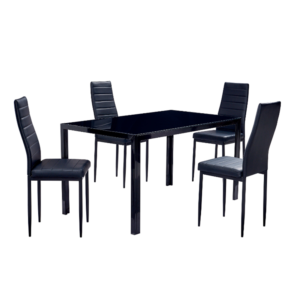 Stan Dining Table & Chairs Set