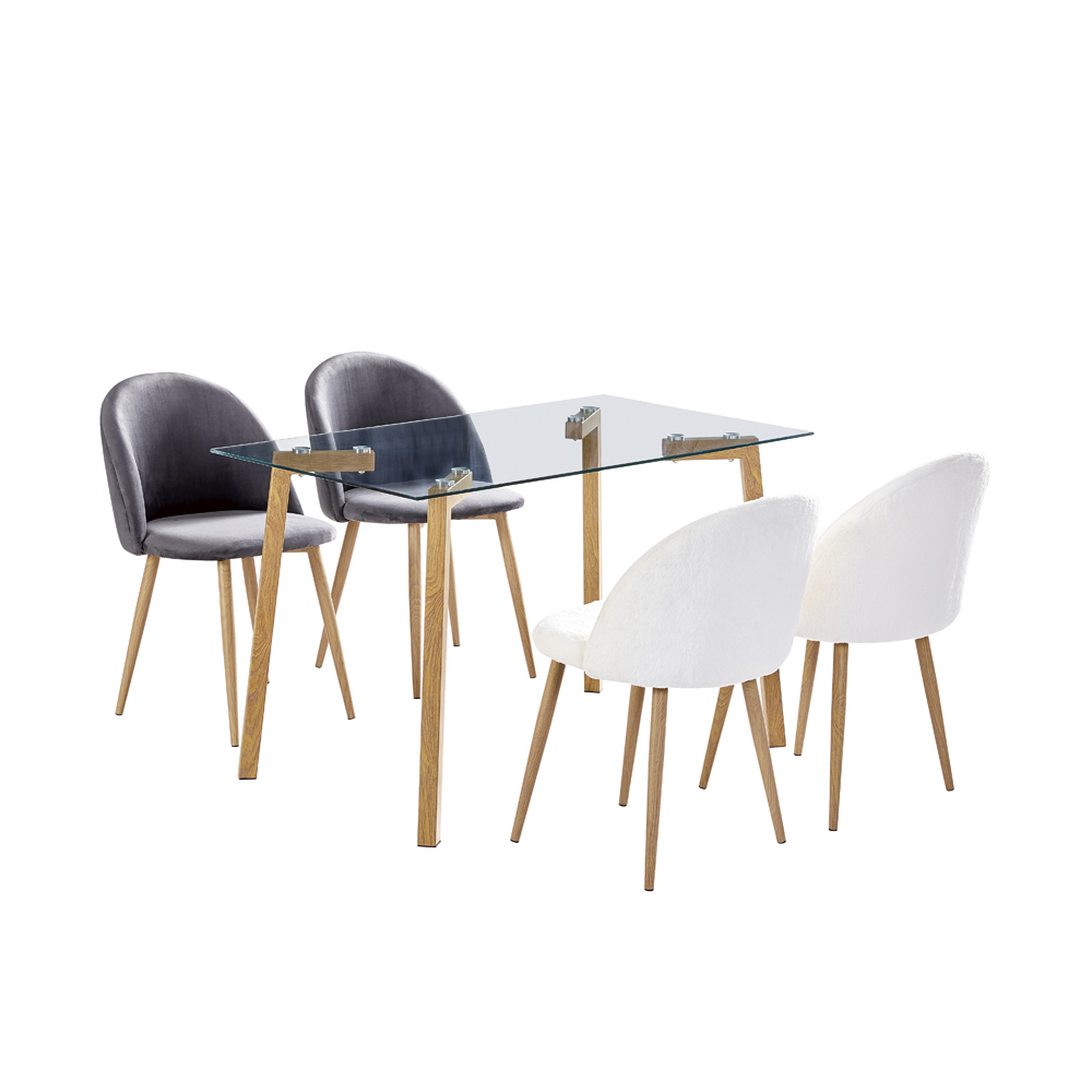 Shirley Dining Table & Chairs Set