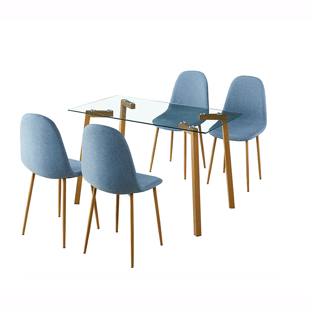 Stuart Dining Table & Chairs Set
