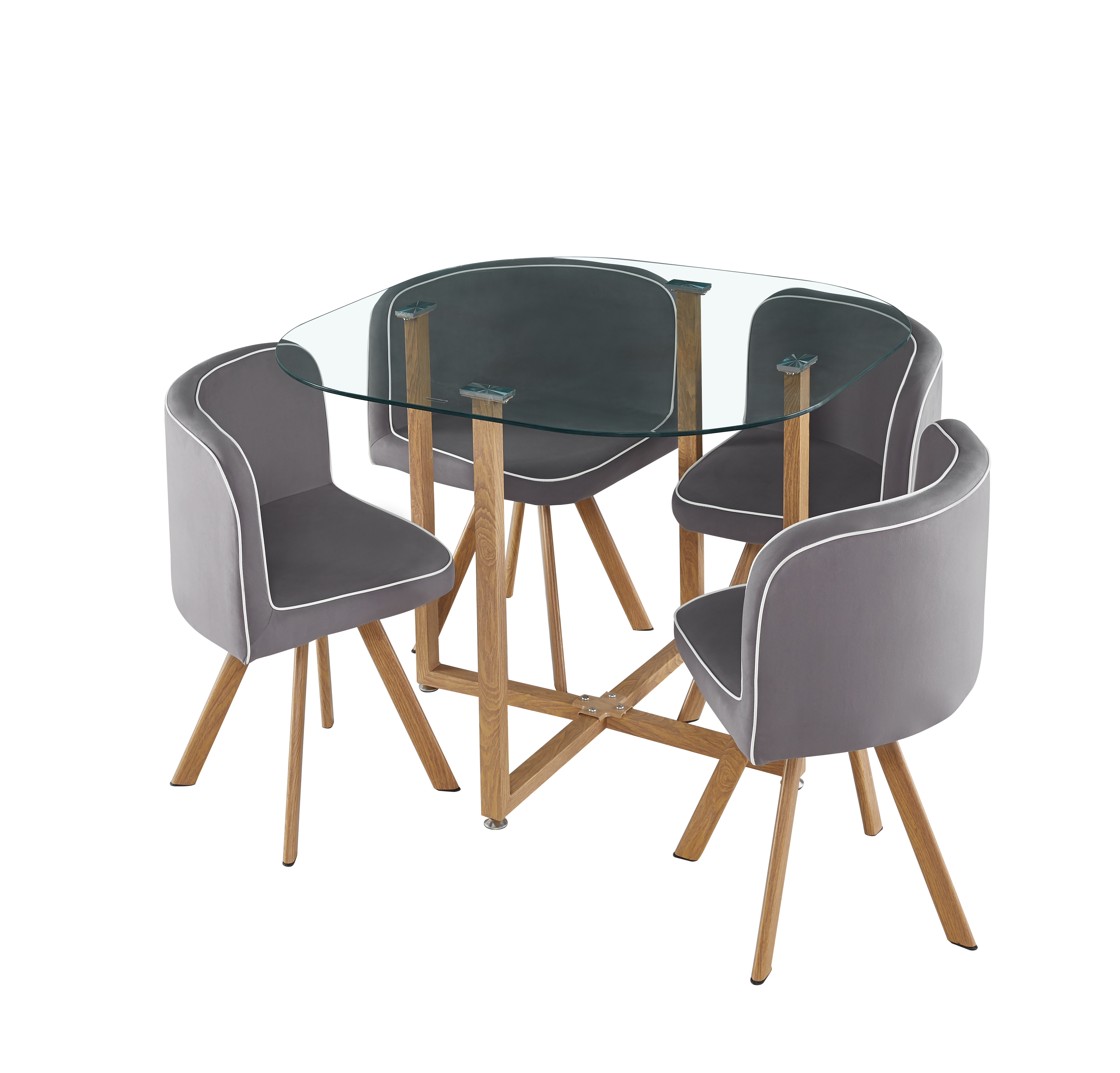 Simon Dining Table & Chairs Set